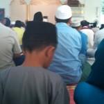 Khutbah jumaat di Miri, Sarawak