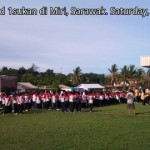 Larian pelajar SK St Columba di Miri, Sarawak
