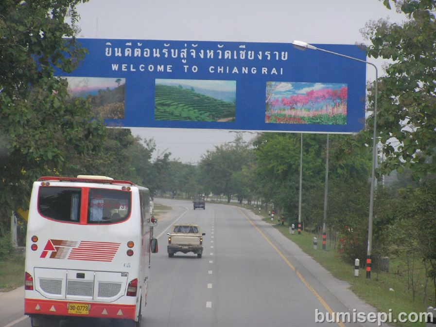 Welcome to Chiangrai! Sawadeekrap!