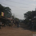 Shwekyin town in Myanmar - dusty but interesting