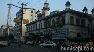 Mogul Hall is Syiah masjid in the Yangon downtown area.