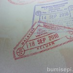 Malaysia Immigration must stamp exit date on your passport.