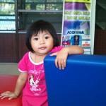 An innocent girl in miri, sarawak