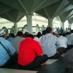 Khutbah jumaat in english di masjid KLCC