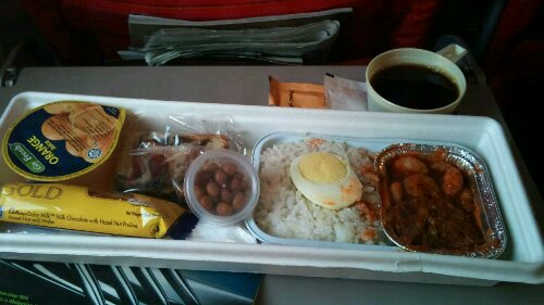 World best nasi lemak served 30000 feet abv the ground