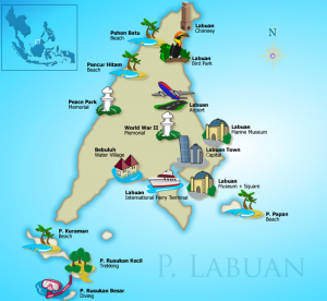 Brunei to Labuan by ferry