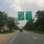 Road to Chumphon Thailand