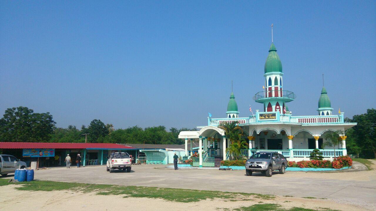 Projek C: Masjid Thap Sake di Thailand