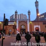 Masjid East London dan makanan halal / East London Mosque and halal food