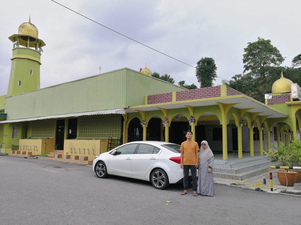 Masjid Tengku Abu Bakar, Raub, PAHANG